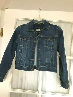 Gap Kids L  Denim Jacket Coat Jeans  Girls