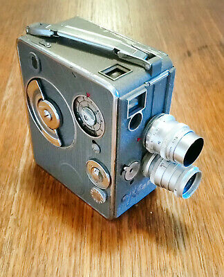 Vintage S2T Nizo 8mm Movie Camera + 2 Nizo lenses **SAFE DELIVERY AVAILABLE**