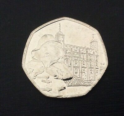 50p Coin 2019 Paddington At The Tower Of London FREEPOST