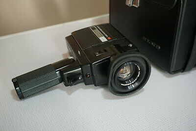ELMO Super 8 Sound 350SL Macro Movie Camera with 9-27mm f/1.2 JAPAN