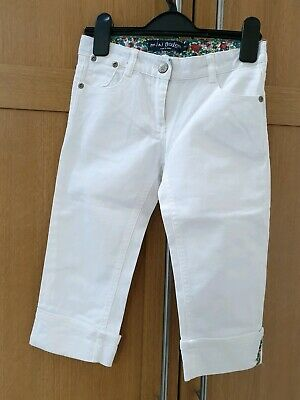 Mini Boden, Girls Cropped Jeans, Age 7, great Condition