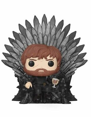 Funko Pop! Deluxe. Game Of Thrones. Tyrion Sitting On Iron Throne Funko Pop! Del