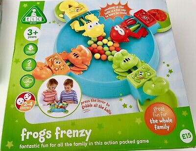 Frog Frenzy Elc Game 2 To 4 Players Children To Adult Family Like Hungry Hippos