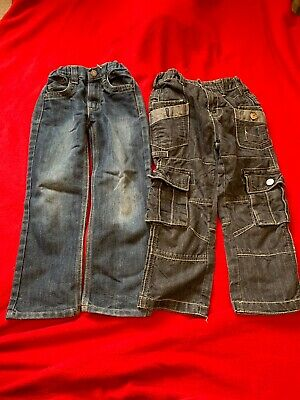 2 Pairs  Of Jeans Age 5-6 Denim Co & Urban Denim