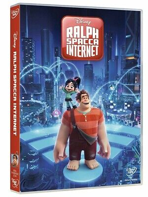 Ralph Spacca Internet (Dvd) 1 Dvd 8717418544065 Rich Moore, Phil Johnston