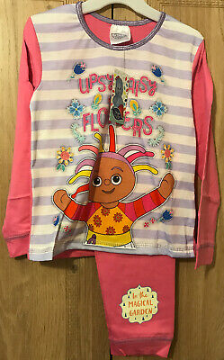 Girls In The Night Garden Pyjamas Pjs Age 3-4 Years Gift Winter Upsy Daisy