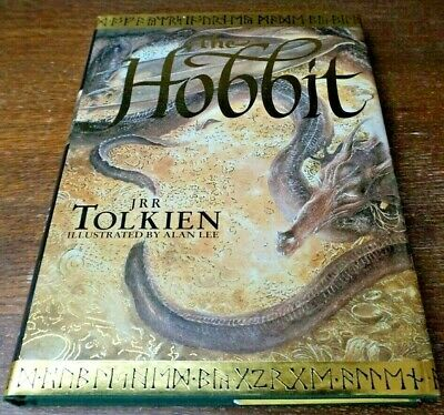 The Hobbit Illustrated J.R.R.Tolkien Signed by Alan Lee F/F Unread First Edition