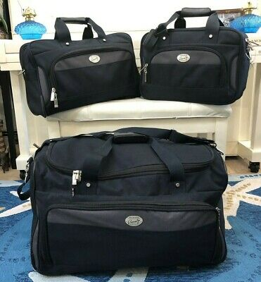 3 Piece Set~ Ricardo Beverly Hills Rolling Duffle / Suitcases Carry-On Luggage