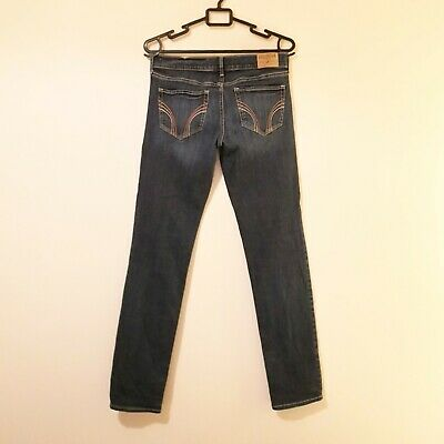 Hollister Skinny, Stretch, Blue Jeans, W28 L33, 'Social Stretch' Excellent Cond