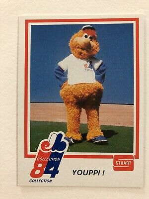 1984 #1 Youppi Stuart Rookie Card Montreal Expos Canadiens RC