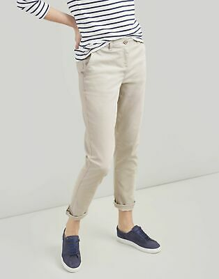Joules Womens Hesford Chinos in IVORY