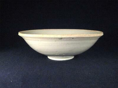 VERY OLD Antique Chinese White Glazed Porcelain Bowl - Song Or Yuan Dynasty.