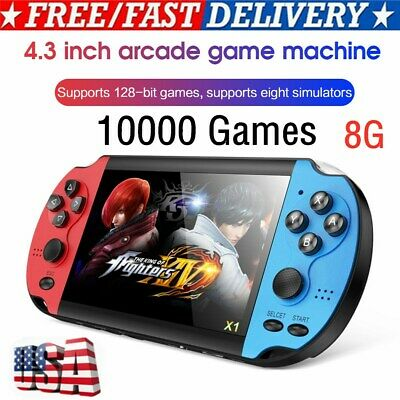 4.3'' 8G 128-bit Arcade Psp Portable Handheld Game Console Built-in 10,000 Game