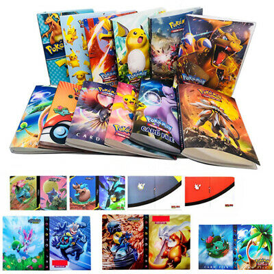 Pokemon Card Album Book List Collectosr Folder for 240 Cards Capacity Holder DIY