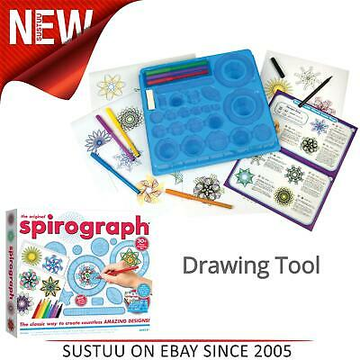 The Original Spirograph Set With Markers│Kid's Drawing Set│30+ piece│8y+