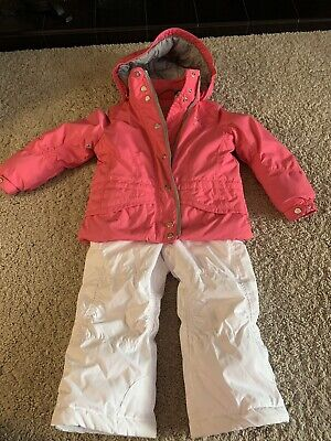Poivre Blanc Jacket And Salopettes Age 3/98cm Girls Pink Ski Suit