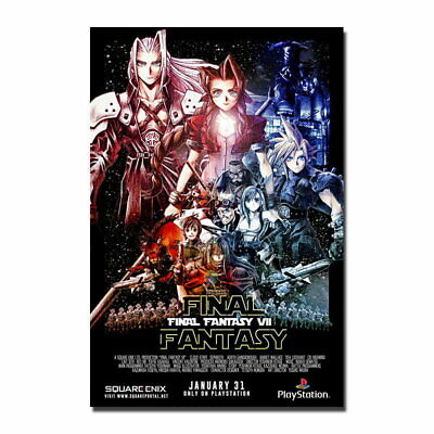 81064 Final Fantasy VII Game Wall Print POSTER Affiche