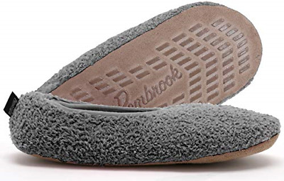 Style Non-Skid Sole Super Soft Slippers Ballet Faux Sherpa Shearling Lining Foam