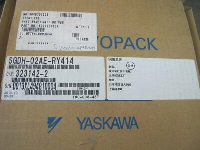1PC NEW IN BOX Yaskawa Servo Driver SGDH-20AE-RY414 one year warranty