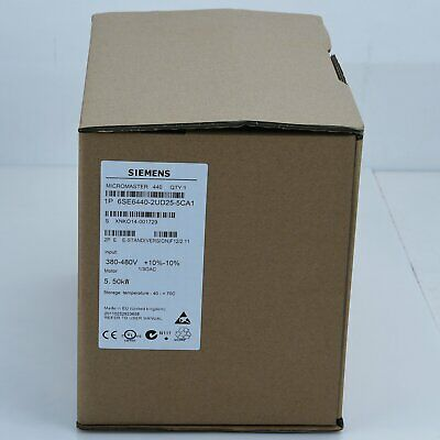 1PC New Siemens Inverter 6SE6440-2UD25-5CA1 Factory Sealed in box #XR