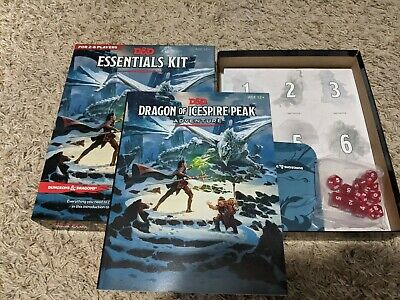 Dungeons and Dragons D&D RPG 5th Ed. Essentials Kit Boxed Set! Very Fun!