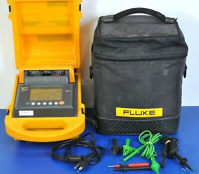 Fluke 1550 5kV Insulation Tester MegOhmMeter - NIST Calibrated, Warranty megger