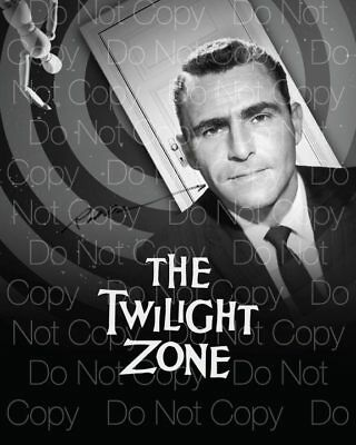 The Twilight Zone signed Rod Serling autograph 8X10 photo picture poster RP 3