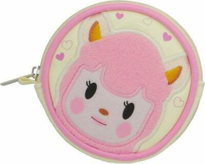 Animal Crossing New Leaf Reese Coin Case Pouch Lisa Nintendo Sanei Japan