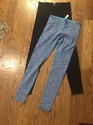 2 Pair Lululemon Size 12 Athletic Leggings Girls