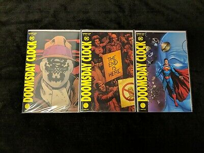DC Comics Doomsday Clock #1-11 + Lenticular Cover NM 1st prints