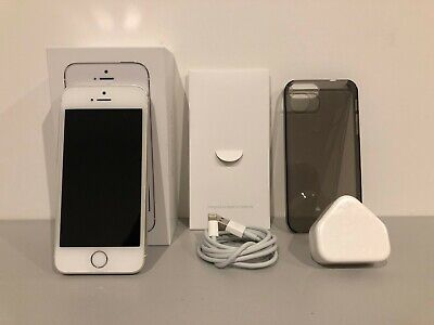 Apple iPhone 5s 16GB White Unlock To All Networks Fully Boxed Pristine Condition
