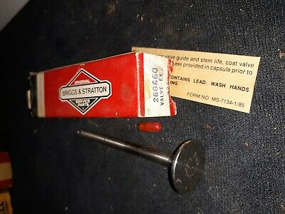 Briggs and Stratton Replacement Part OEM Exhaust Valve 260860 Lot #1