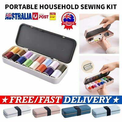 Sewing Kit Multifunctional Portable Sewing Threads Kit for Home Travel AU RK