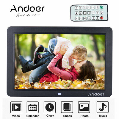 Andoer 12inch Digital Picture Frame HD LED 1280*800 Wide Screen Photo Album P3O3