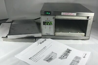 Used Merco MHC-1 86007 120V Commercial Holding Cabinet Food Warmer.