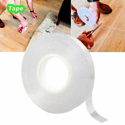 Double-sided Grip Tape Traceless Washable Adhesive Nano Invisible Gel Tapes RK