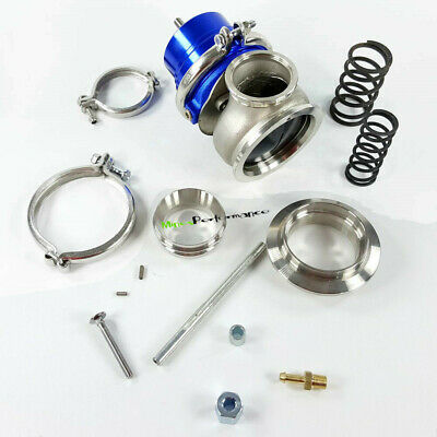 GT2 60MM Wastegate BLACK V BAND 1jzgte 2jz rb25 JDM  BK color U SR20DET