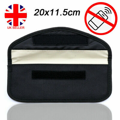 Car Key Phone Signal Fob Blocker Case Faraday Pouch Keyless Entry Block Bag UK