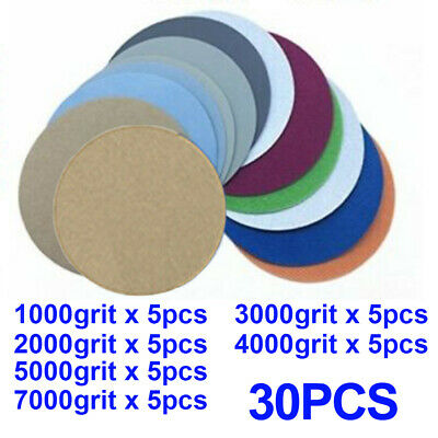 5 inch Sanding disc Silicon Carbide Wet & dry Hook and Loop Grinding Polishing