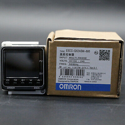 NEW  Omron E5CC-QX2ASM-880 Temperature Controller IN BOX One year warranty#XR
