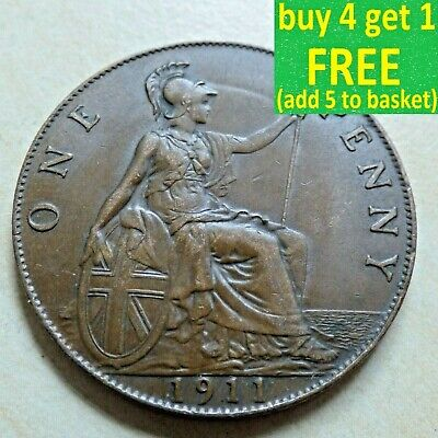 King George V One 1 Penny Choice 1911-1936 Pick Your Own Choose Date