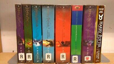 Harry Potter, by JK Rowling: complete collection of 8 children's fiction books