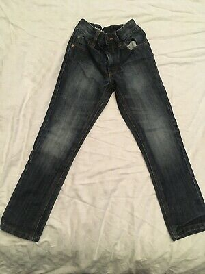 Boys Next Regular Fit Jeans Dk Blue Size 5years Excellent Condition