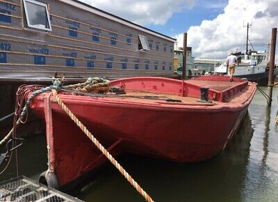 60ft Ex-Racing Barge - ideal conversion project