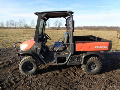 Kubota RTV-X900 Utility Vehicle, 4WD, Hyd Dump Bed, Windshield, 1,314 Hours