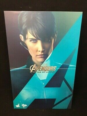 Toy sapiens Limited Hot Toys Avengers Age of Ultron Maria Hill 1//6 Action Figure