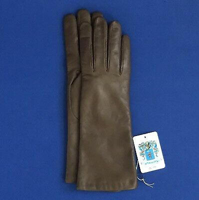 NWT Portolano Ladies Cashmere Lined Napa Leather Gloves -- FINAL SALE