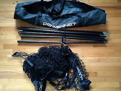 PowerNet Team Color Baseball Softball 7x7 Hitting Net w/Bow Frame