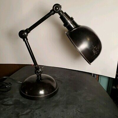 Pottery Barn Industrial Task Desk Lamp Model 3157328 /Tested And Works