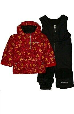 NEW COLUMBIA BUGA SET SNOWSUIT SET BABY GIRL 6-12 MONTH 2 PIECE WARM!